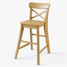 Junior Chair Ikea Ingolf 3D Model