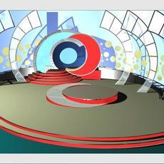 Music Entertainment 008 3D Model