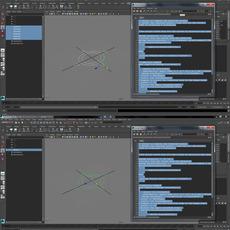 combineCurves mel for Maya 1.1.0 (maya script)