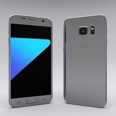 Samsung Galaxy S7 Gray 3D Model