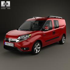 Dodge Ram Pro Master City Wagon 2015 3D Model