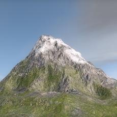 Terrain mountain 3D Model