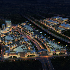 Commercial Plaza 051 3D Model