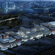 Commercial Plaza 053 3D Model