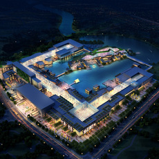 Commercial Plaza 054 3D Model