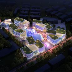 Commercial Plaza 057 3D Model