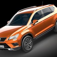 Seat Ateca 2017 3D Model