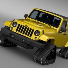 Jeep Wrangler Unlimited X1 Crawler 2016 3D Model