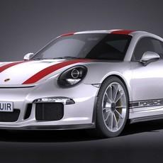 Porsche 911 R 2017 3D Model