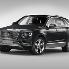 Bentley Bentayga (2017) 3D Model
