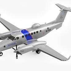 Beechcraft Super King Air 350CER 3D Model