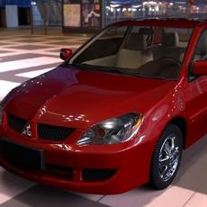 Mitsubishi Lancer for Maya 2.1.6