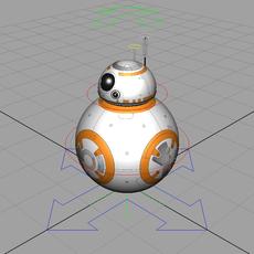 STAR WARS: BB-8 Rig for Maya 2.0.0