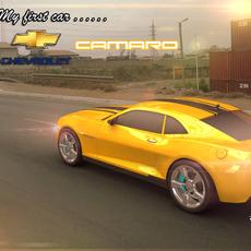 Chevrolet Camaro Rig for Maya 2.0.0