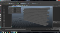 BrickWallBuilder for Maya 1.0.0 (maya script)
