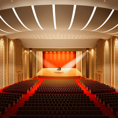theater scene interior concert hall opera cinema 3D Model