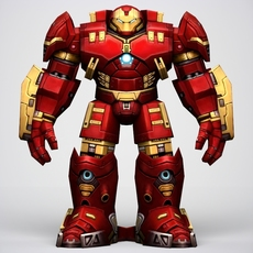 Iron Man Hulkbuster Armor 3D Model