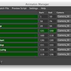 Animation Manager for Maya 1.0.5 (maya script)