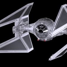 Star Wars TIE Interceptor 3D Model