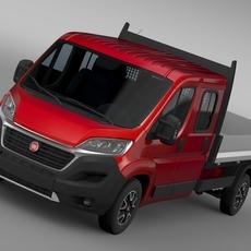 Fiat Ducato Crew Cab Truck 2016 3D Model