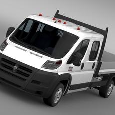 Ram Promaster Cargo Crew Cab Truck 2015 3D Model