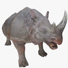 Rhino Animated 3D Model