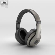 Beats by Dr. Dre Studio Over-Ear Headphones Titanium 3D Model