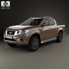 Nissan Navara Double Cab 2015 3D Model