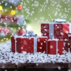 Falling Snow Animation 3D Model