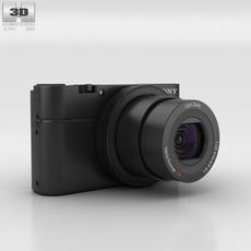 Sony Cyber-shot DSC-RX100 3D Model