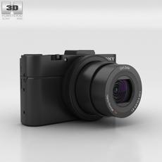 Sony Cyber-shot DSC-RX100 II 3D Model