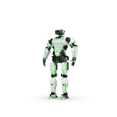 Sci-Fi Male Character 1 3D Model