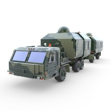 Support bus 3D Model