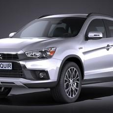 Mitsubishi Outlander Sport 2016 3D Model