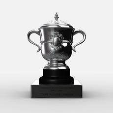 Roland Garros Womens Trophy 3D Model