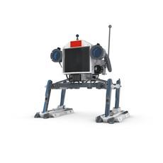 Funny Robot Character 7 3D Model