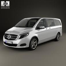 Mercedes-Benz V-Class 2014 3D Model