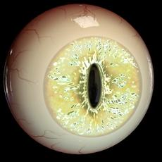 Creature eye ball 01 3D Model
