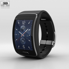 Samsung Gear S Black 3D Model