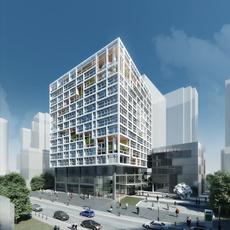 Office Building 082 3D Model