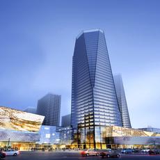 Skyscraper business center 020 3D Model