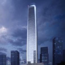 Skyscraper business center 018 3D Model