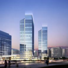 Skyscraper business center 024 3D Model