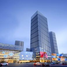 Skyscraper business center 039 3D Model