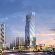 Skyscraper business center 041 3D Model