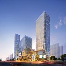 Skyscraper business center 043 3D Model