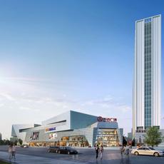 Commercial Plaza 014 3D Model