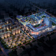 Commercial Plaza 016 3D Model
