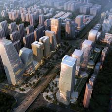 Commercial Plaza 025 3D Model