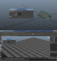roofTilesBuilder for Maya 1.0.0 (maya script)